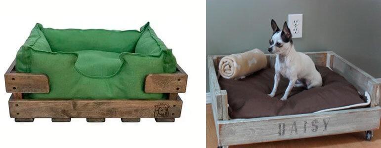 Домик из ящика для чихуахуа